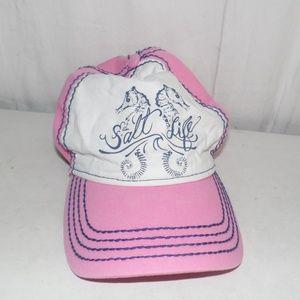 Salt Life Pink Snapback Hat Cap